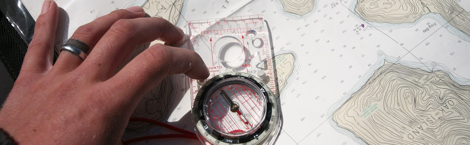 Northland College Map and Compass