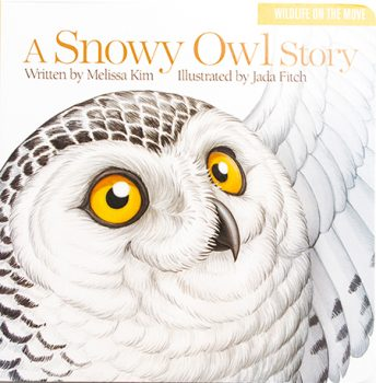 A Snowy Owl book cover