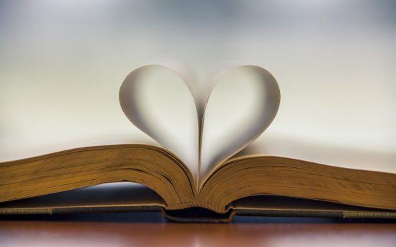 heart in a book