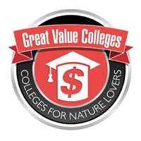 Colleges for nature lovers infographic