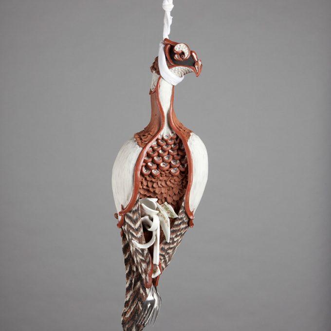 Northland College student art: Pheasant