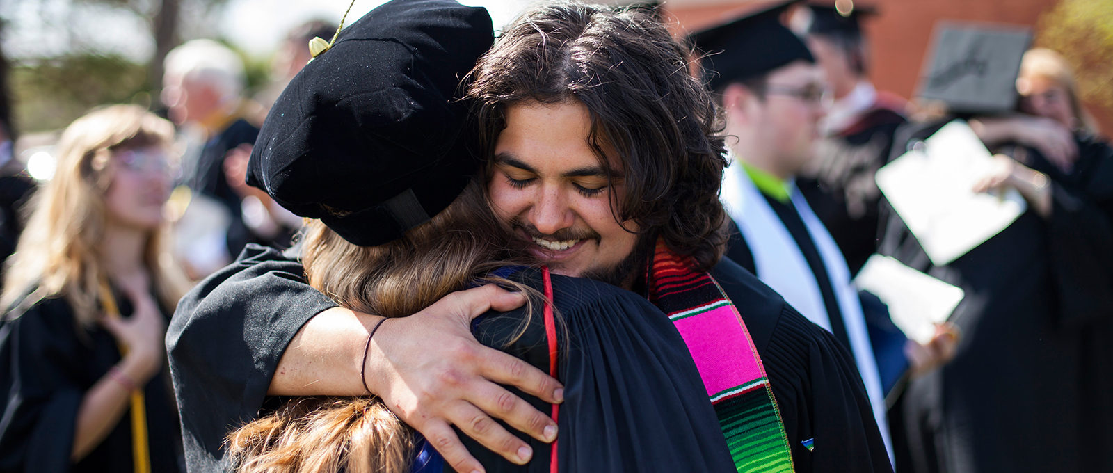 Graduates celebration at commencement