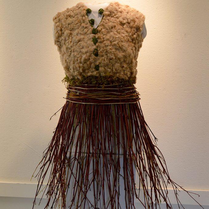Northland College student art: Dogwood Dress
