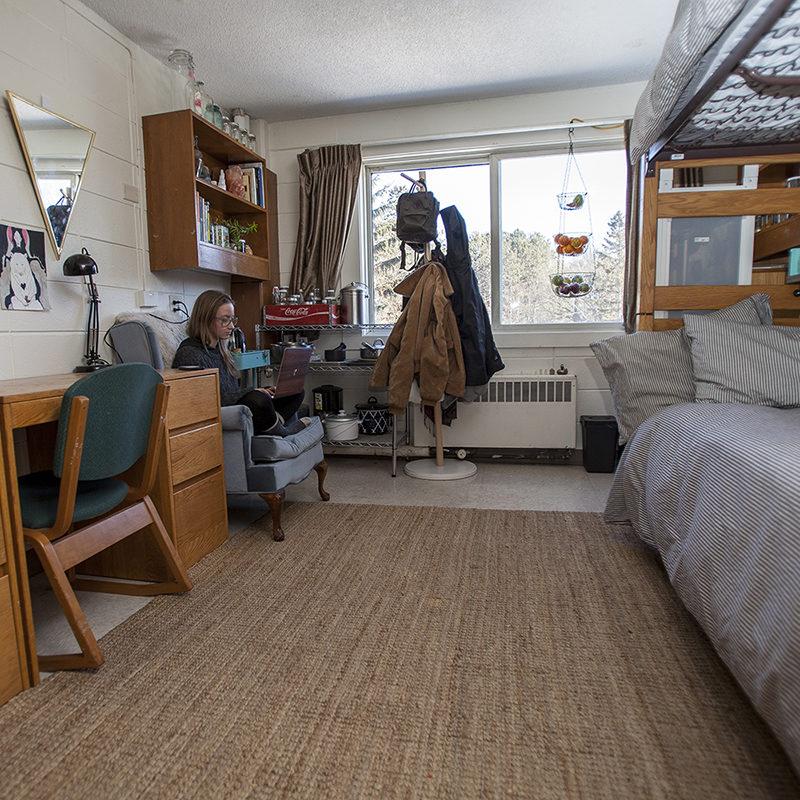 Northland College Fenega Hall Room Interior