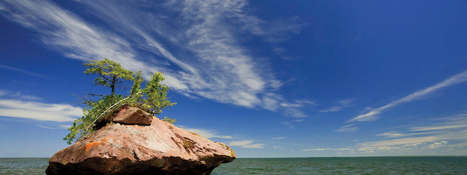 Apostle Island rock