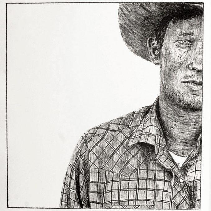 Northland College student art: Richard Wheat Croft