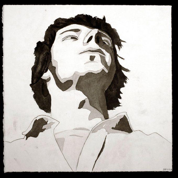 Northland College student art: Self-Portrait