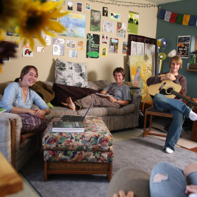 Students in Townhouse