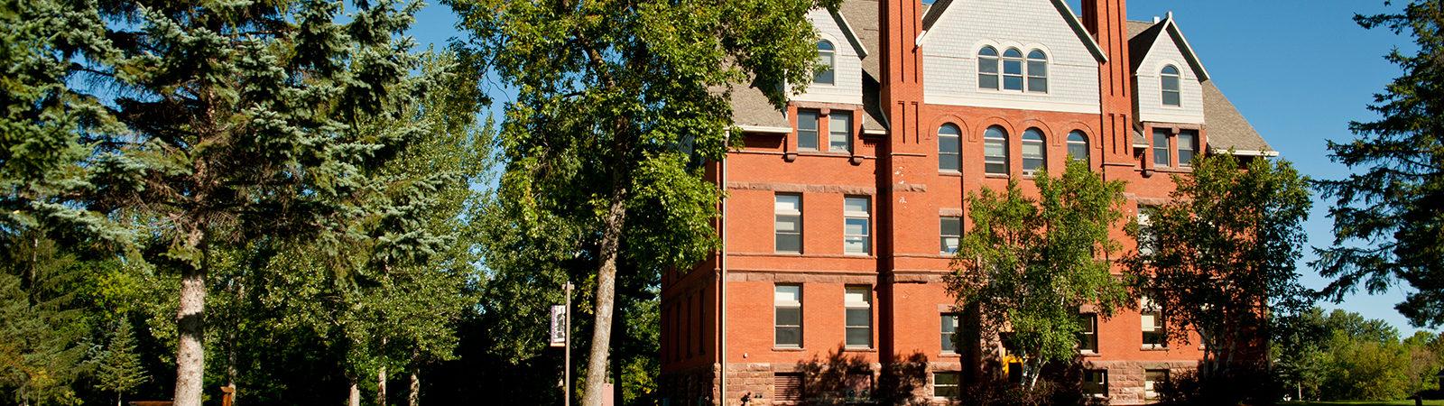 Wheeler Hall building on campus