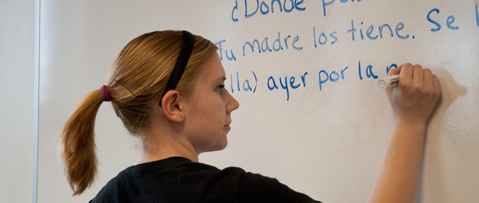 Northland College Spanish Student
