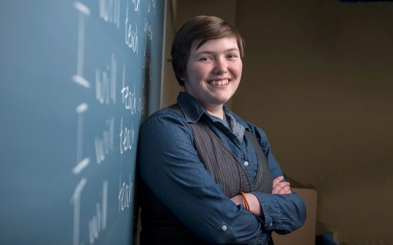 Northland College teaching student in classroom