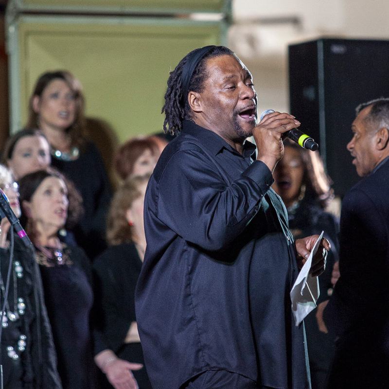 Northland College martin Luther King Day celebration with the Twin Cities Gospel Choir.