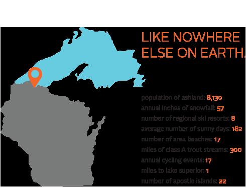 Northland College Ashland Wisconsin - Us map college logos