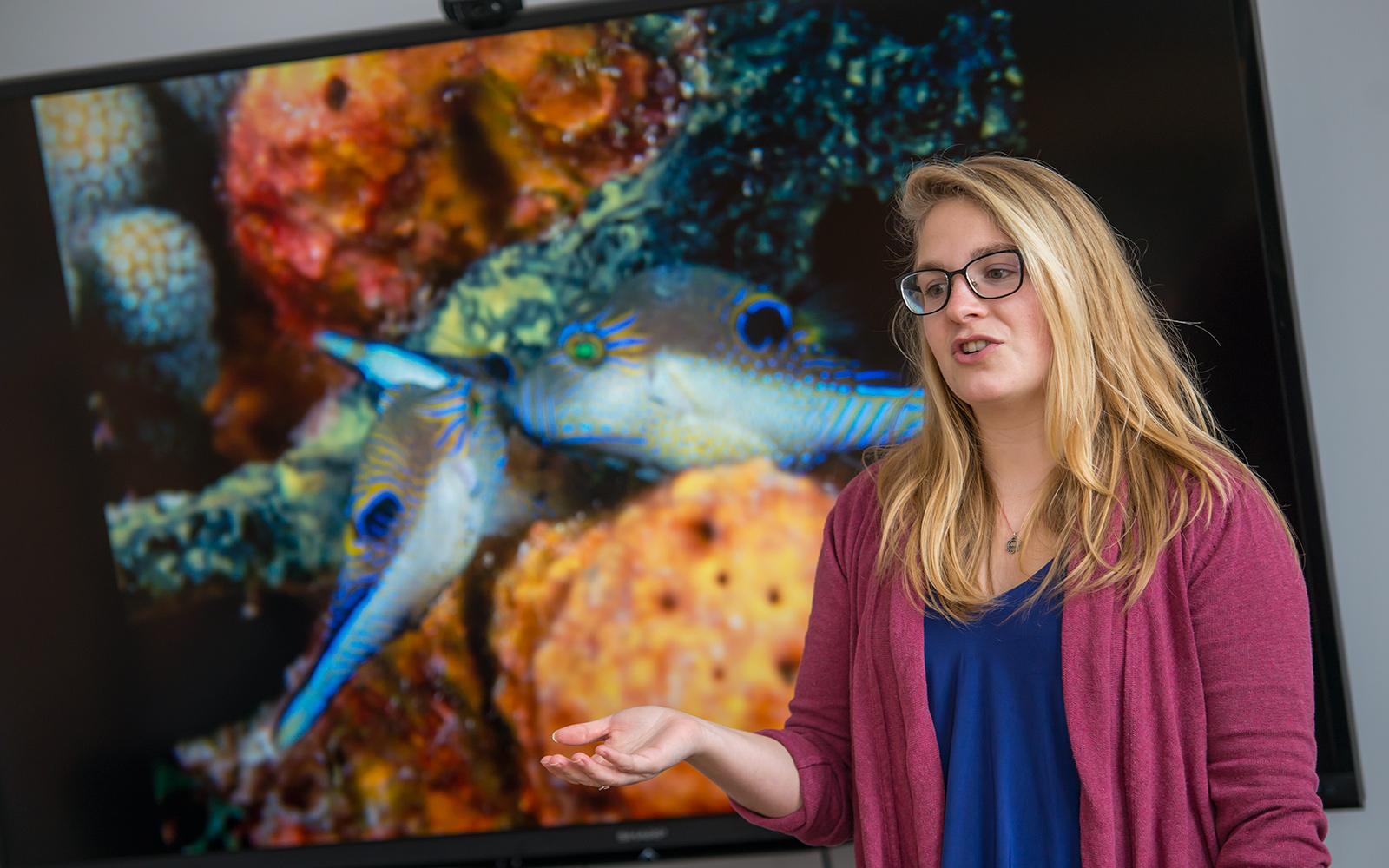 Student Marissa Neitzke