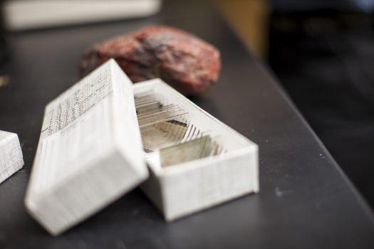 slides of asbestos