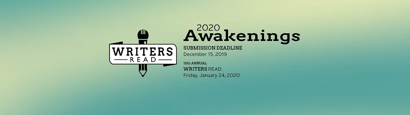 2020 WritersRead header