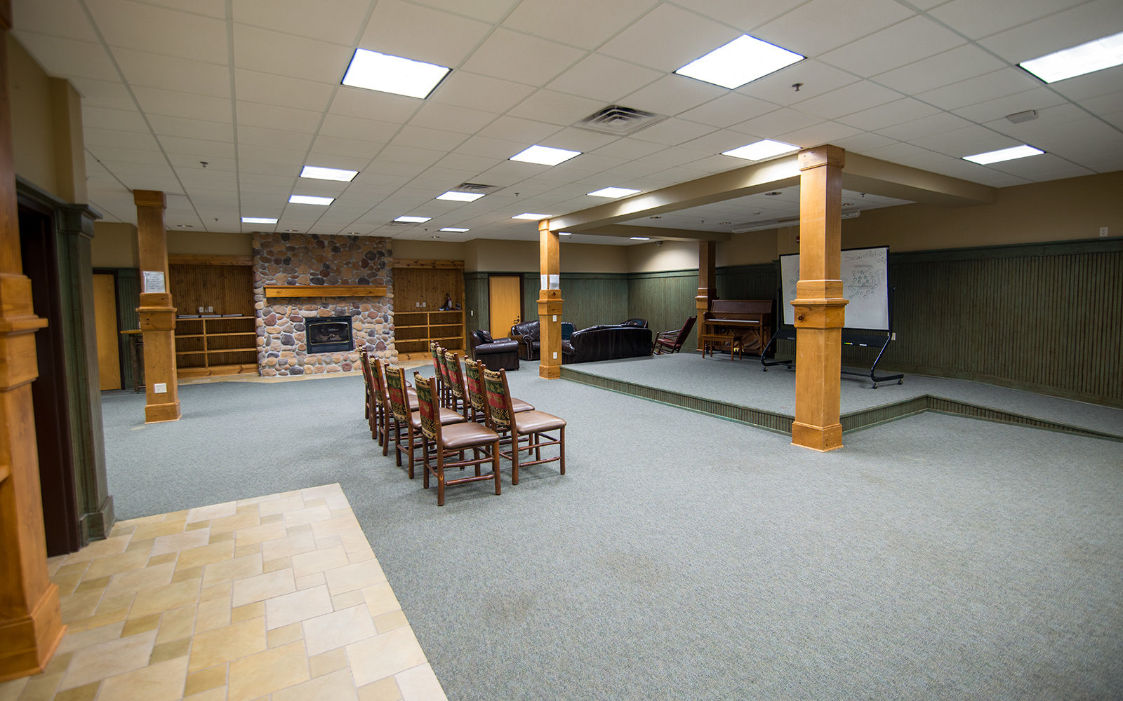Northland College Lumberjack Lounge