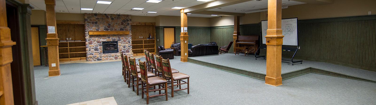 Northland College Lumberjack Lounge