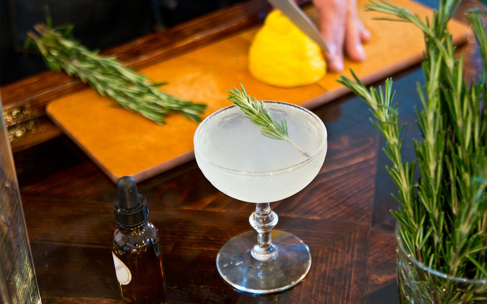 Loon Liquors martini. Photo by Bill Kelley