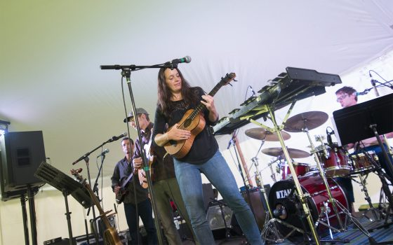 Northland College professor plays in band