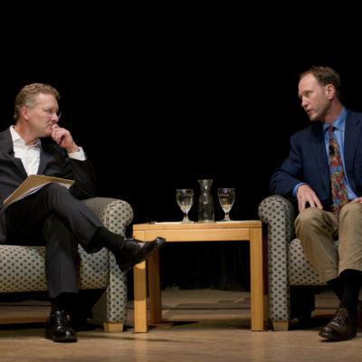 Panelists Peter Annin and Cam Davis