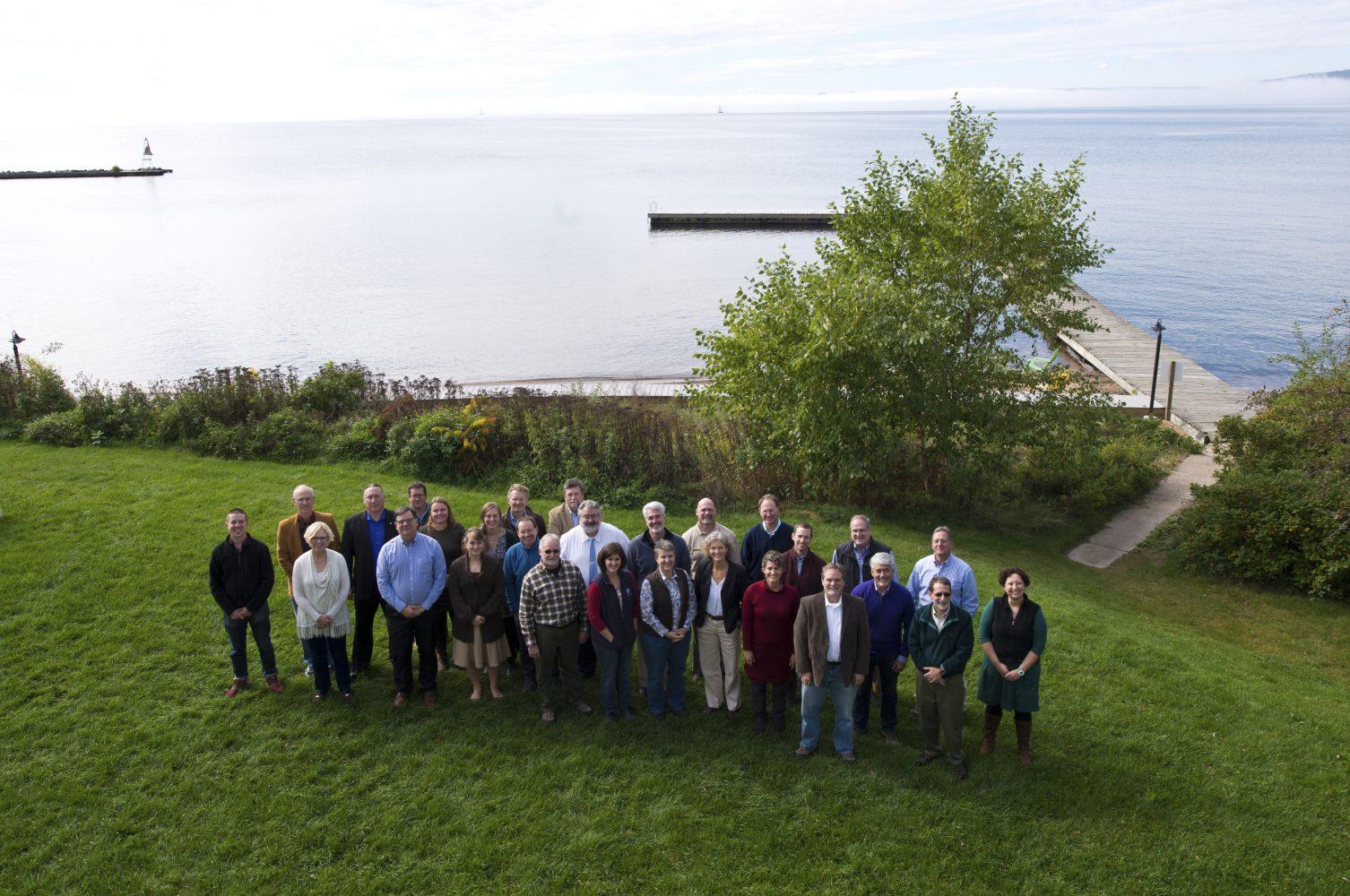 Portrait of Water Summit participants
