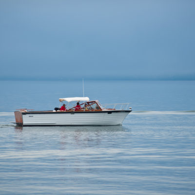 Boat on Lake Superior
