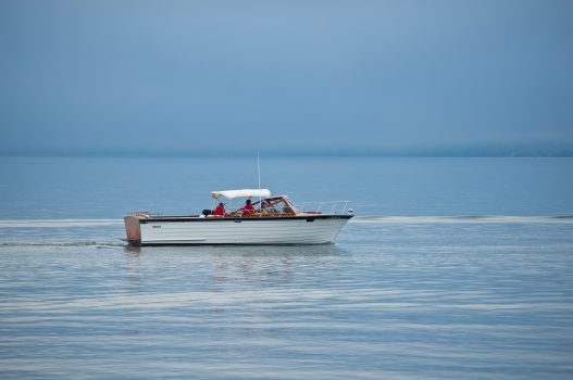 Boat on Lake Superior