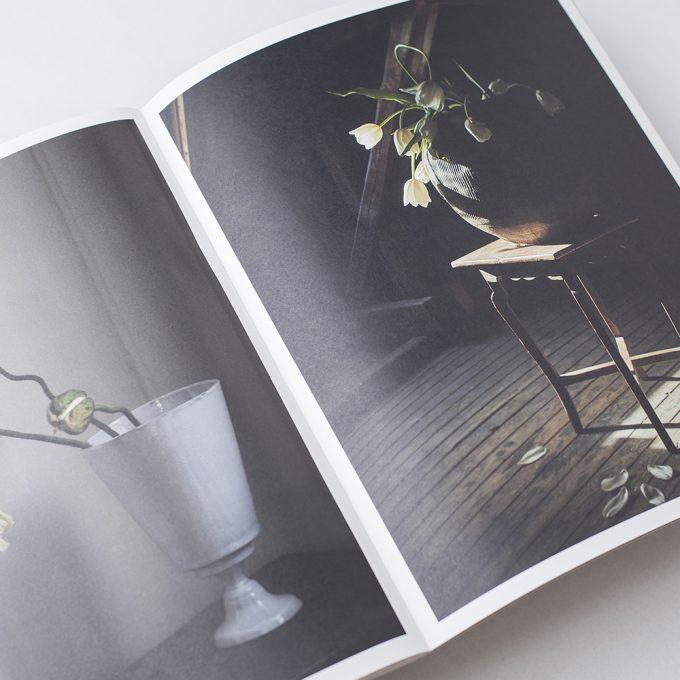 Photo of magazine layout