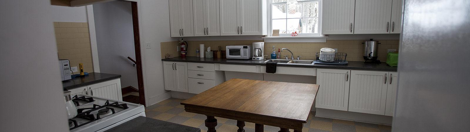Forest Lodge Gatehouse Kitchen