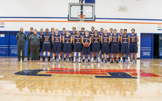 Northland College Men's Basketball team