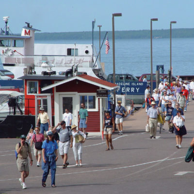 Great lakes Initiative Madeline Island Ferry Dock