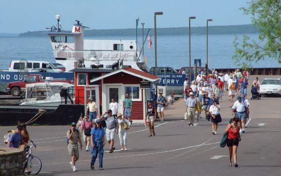 Great lakes Initiative Madeline Island Ferry Dock