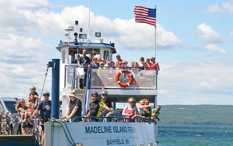 Great lakes Initiative Madeline Island Ferry