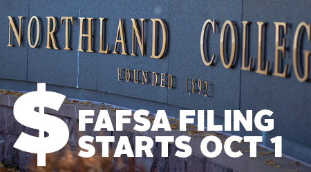 Northland College FAFSA filing