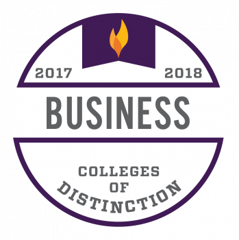 College of Distinction_Program Badge Business 2017-2018
