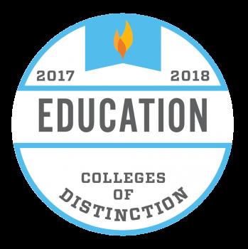 College of Distinction_Program Badge Education 2017-2018