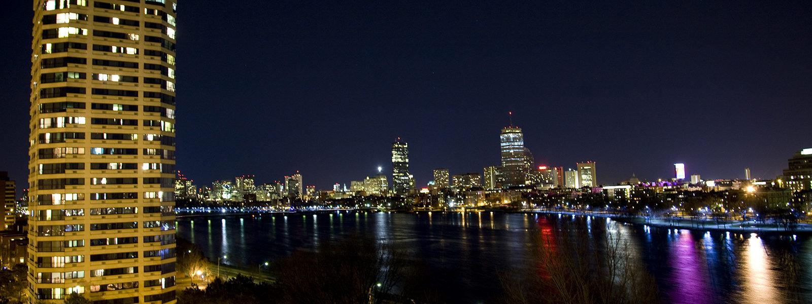 City scape of Boston, Mass by photographer Bob Gross