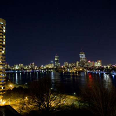 City scape of Boston, Mass by photographer Bob Gross