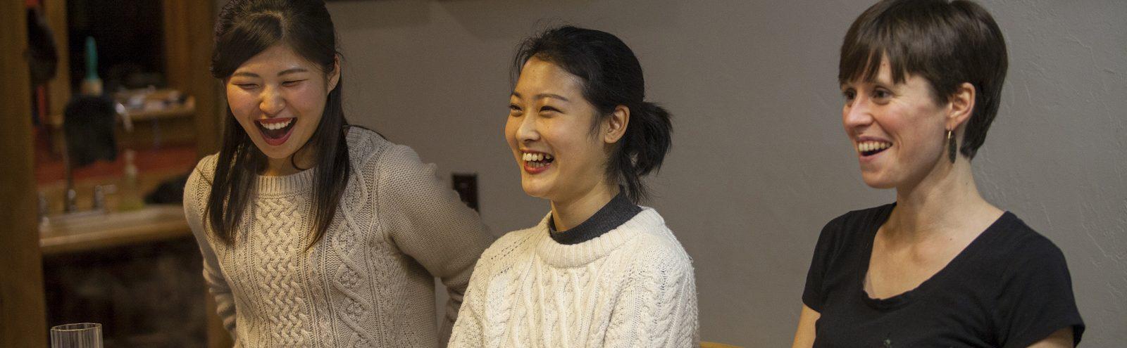 Northland College Japanese exchange students