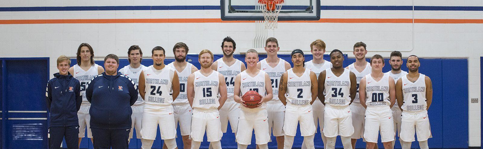 Mens Basketball Team Photo 2017