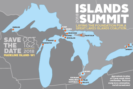 2018 Island Summit, October 1-2, madeline Island