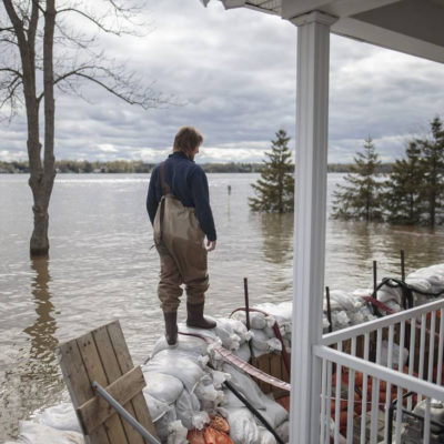 Image of Flooding Globe and Mail