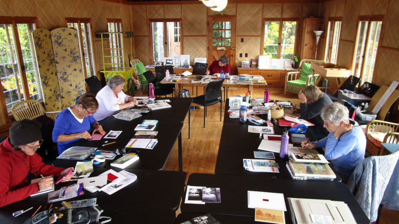 Lifelong Learning artist retreat workshop