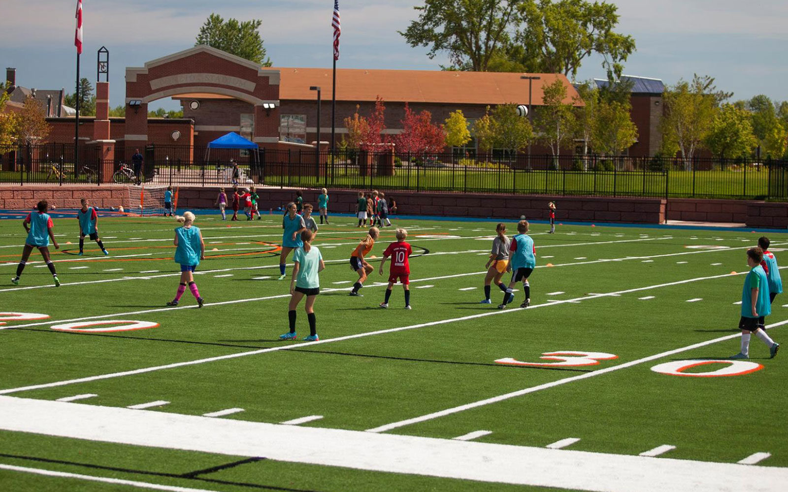 Northland College summer soccer camp