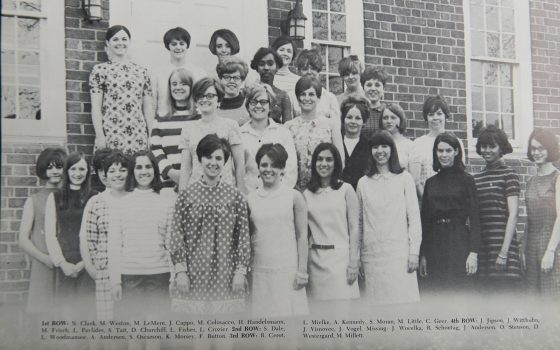 Alpha sigma women of 1968