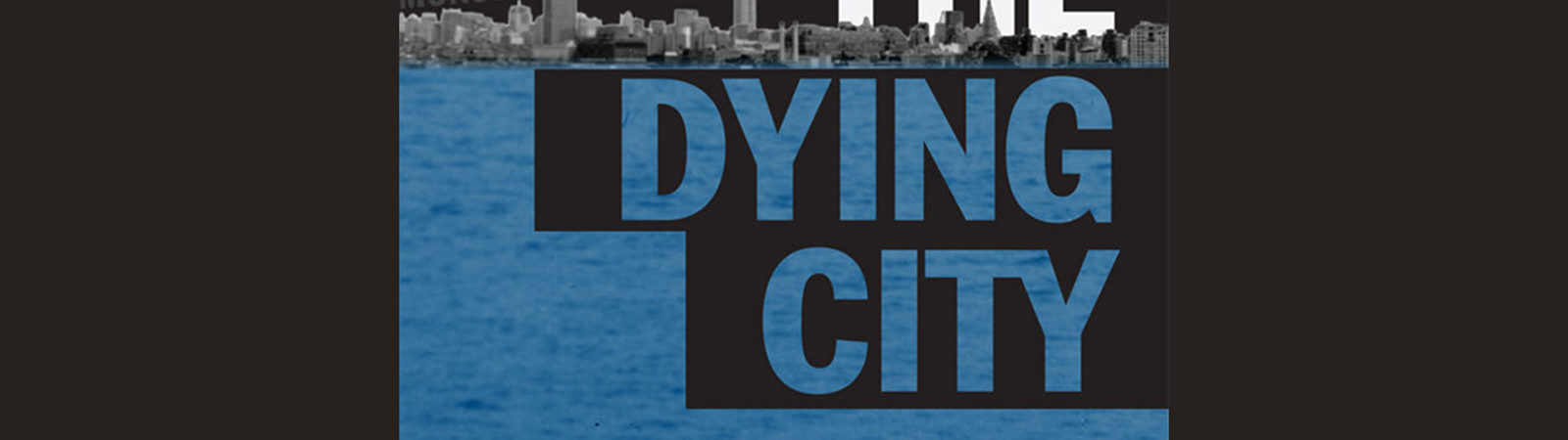 Northland College professor Brian Tochterman's book, The Dying City