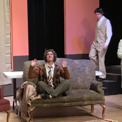 Northland College theatre group, the Fourth Wall, perform The Mousetrap