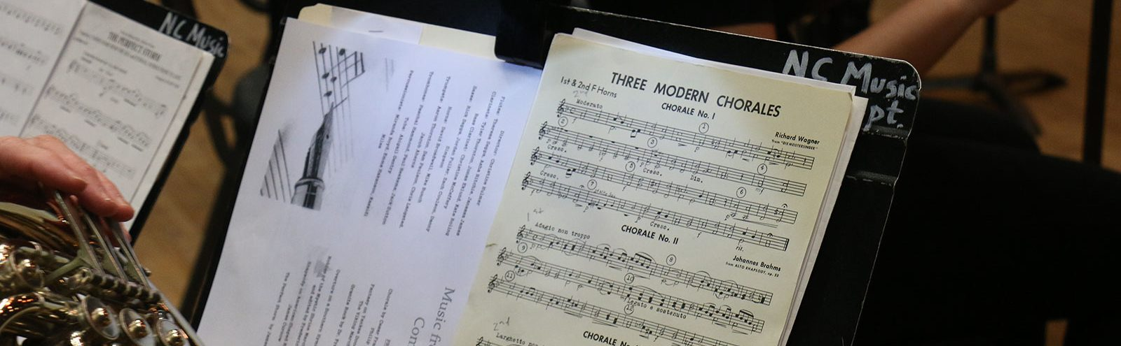 Concert sheet music