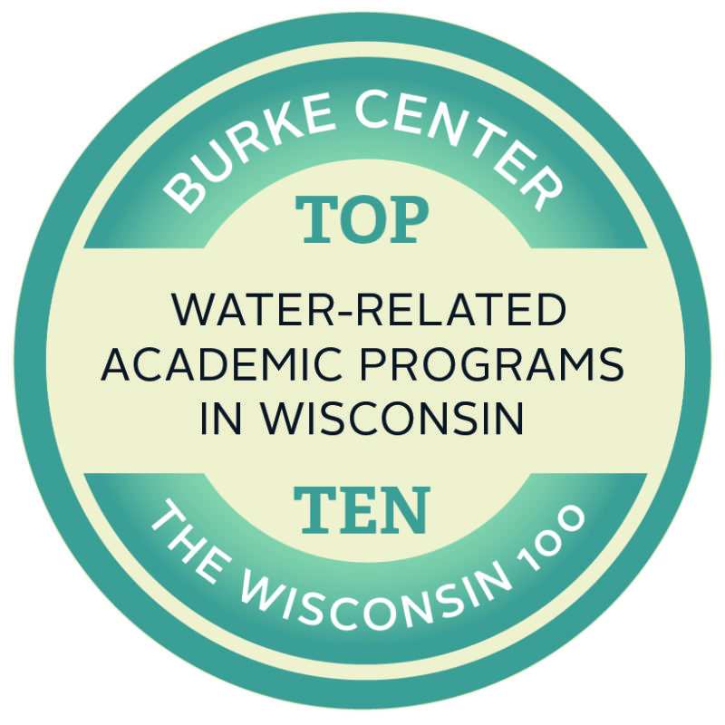 Burke Center rated in Wisconsin's top-ten for water-related academic programs